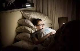 компьютер и сон осенью